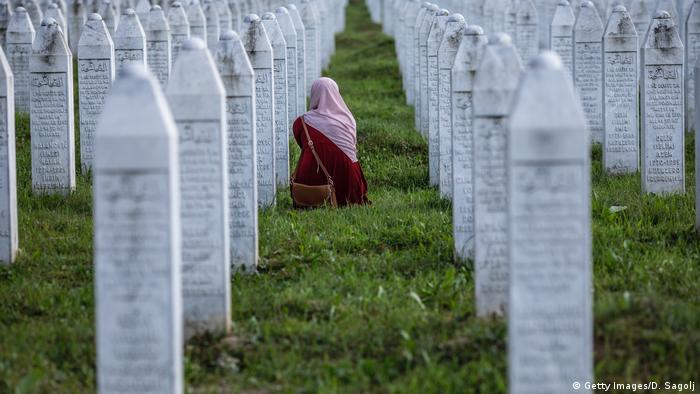 Groblje u Potočarima za žrtve genocida