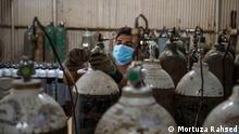 Oxygen situation in Bangladesh during the pandemic. Description: During the pandemic the supply of oxygen in Bangladesh is low while the demand is high. Tags: Bangladesh, Oxygen, Pandemic, Supply, Demand Copyright: Mortuza Rahsed