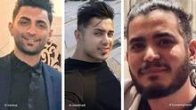 Drei im Iran zum Tode verurteilte Männer