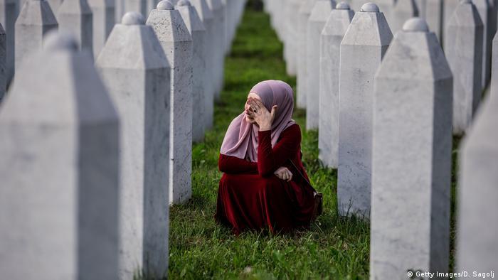 Bosnien und Herzegowina Gedenken an Srebrenica-Massaker