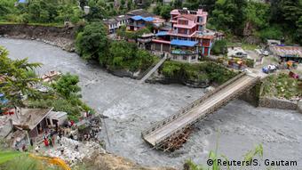 Nepal Überschwemmungen in Myagdi