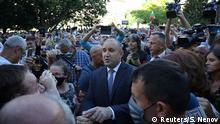 Bulgarien Sofia |Präsident Rumen Radev & Anhänger