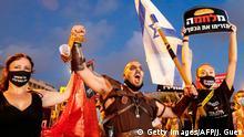 Israel, Tel Aviv I Protest I COVID-19