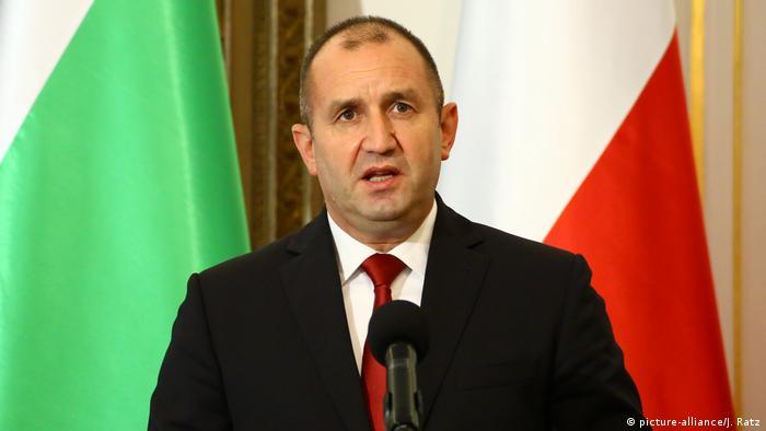Predsednik Bugarske Rumen Radev