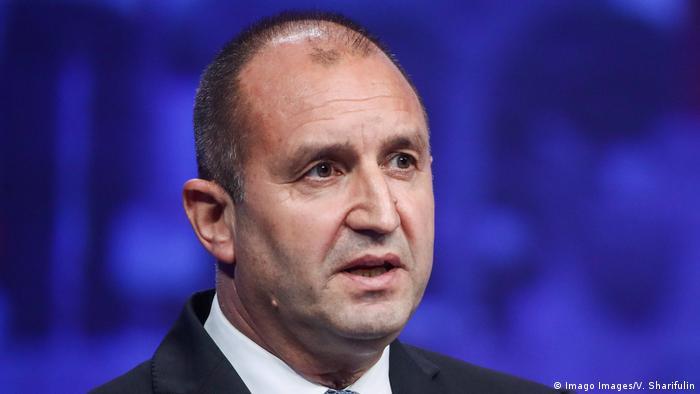 Rumen Georgiew Radew I Staatspräsident Bulgarien