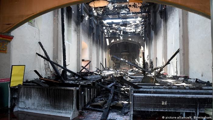 USA I Kalifornien I San Gabriel I Brand in Kathedrale