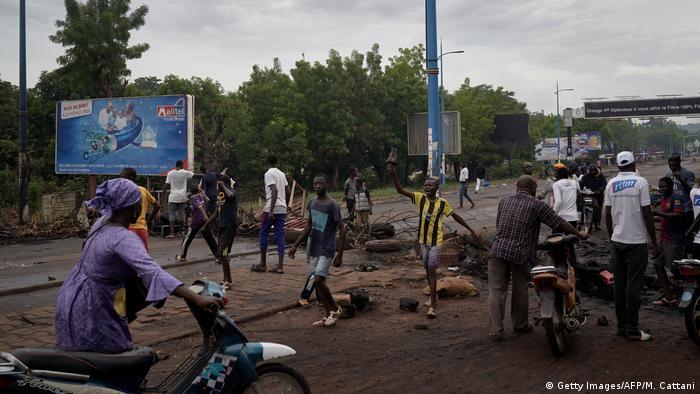 Le M5 avait été l'initiateur des grandes manifestations populaires qui ont précipité la chute du régime d'Ibrahim Boubacar Keïta