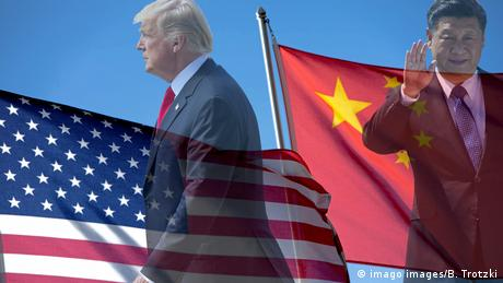 Symbolbild USA China Beziehungen