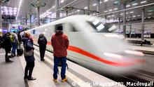 Deutsche Bahn | ICE (Getty Images/AFP/J. Macdougall)