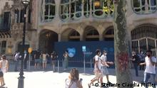 Tourismus Coronavirus Barcelona