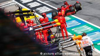 Ferrari's day was over before it started