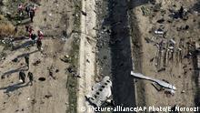 Iran Flugzeugabsturz bei Teheran