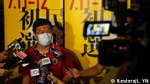 Hongkong Vorwahlen 2020  Au Nok-hin, ehemaliges Mitglied Legislativrat