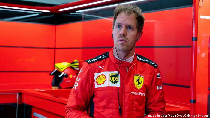 Formel 1 GP von Österreich |Sebastian Vettel, Ferrari (Imago Images/Hoch Zwei/Colombo Images)