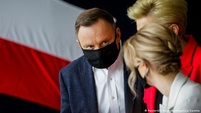 Polen Stichwahl Präsidentenamt |Rafal Trzaskowski, Kandidat (Reuters/A. Bochenek/Agencja Gazeta)