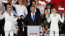 Polen Stichwahl Präsidentenamt |Andrzej Duda, Präsident