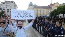 Bulgarien Sofia |Protest gegen die Regierung
