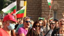 Bulgarien Sofia  Protest gegen die Regierung