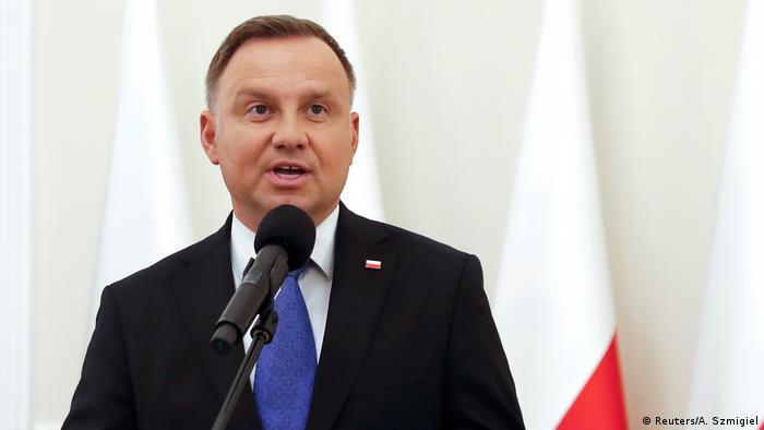 Polish President Duda (Reuters/A. Szmigiel)