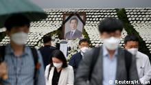 Südkorea Seoul Altar Park Won-soon Bürgermeister