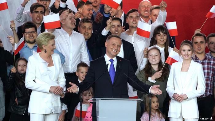 Polen I Präsidentschaftswahl I Andrzej Duda Sieger