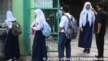 Indonesien | Coronavirus | Wiedereröffnung der staatlichen Gymnasien in Bekasi