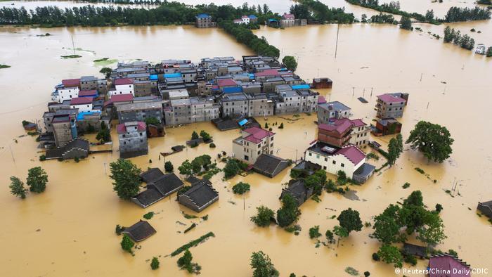 China Überschwemmungen (Reuters/China Daily CDIC)