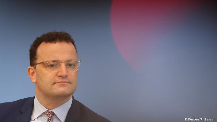 German Health Minister Jens Spahn