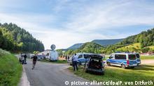 Großaufgebot der Polizei sucht bewaffneten Mann Schwarzwald Oppenau