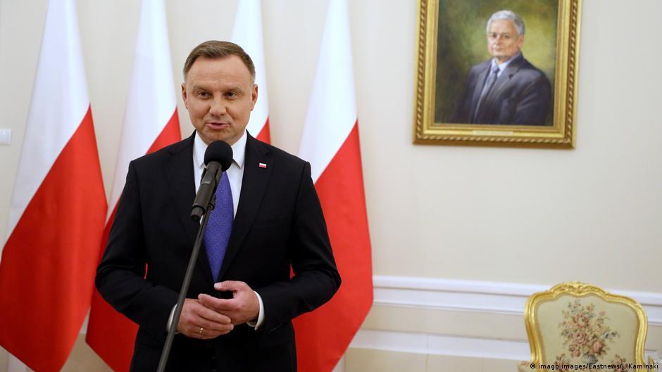Polish President Andrzej Duda tests positive for coronavirus