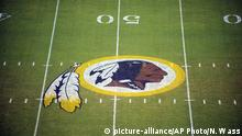 USA Football Logo der Washington Redskins