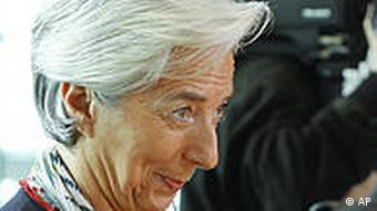 French Finance Minister Lagarde.