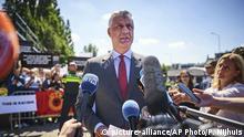 Niederlande Den Haag | Hashim Thaci, Präsident Kosovo