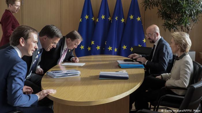 Belgien Sondergipfel des Europäischen Rates in Brüssel
