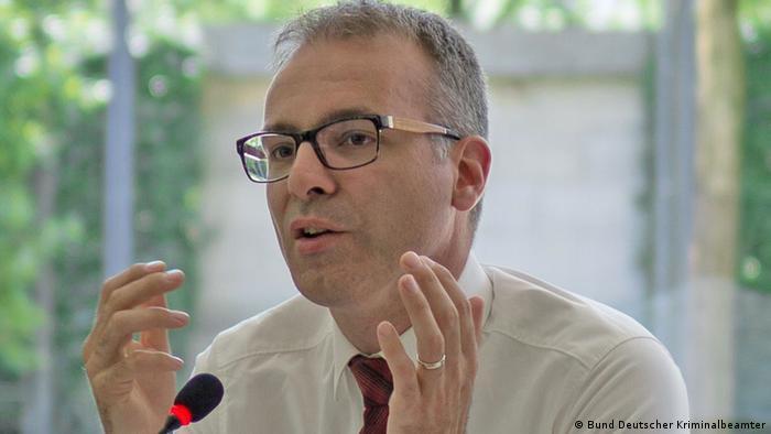 Danijel Krečmar, član uprave Saveza nemačkih kriminalističkih službenika