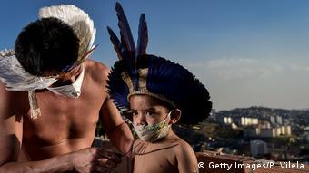 Представители бразильского народа паташо