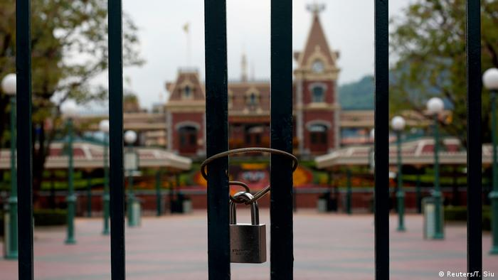 Hong Kong Disneyland closes its doors
