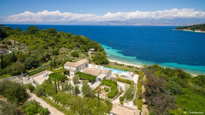A house for sale on Corfu, Greece