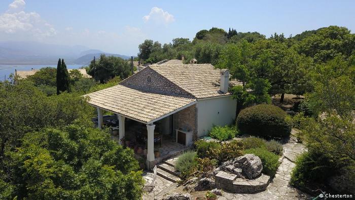 A house for sale on the island of Corfu, Greece