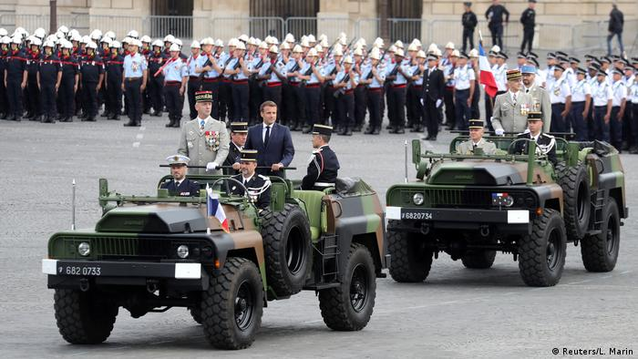 Frankreich   Bastille Day   Nationalfeiertag 2020   Coronavirus   Militärparade   Macron