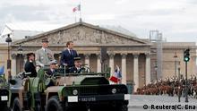 Frankreich | Bastille Day | Nationalfeiertag 2020 | Coronavirus | Militärparade | Macron