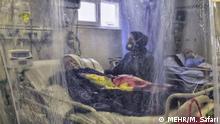 Iran   Krankenhaus: Behandlung von Coronapatienten