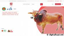 Dhaka North City Corporation (DNCC) has launched an online platform for selling sacrificial animals, 'Digital Haat' (www.digitalhaat.net) of Bangladesh, with the purpose of curbing coronavirus infection has been launched through an inauguration program. Keywords: Eid-ul Azha, Bangladesh, digital haat, Eid