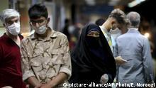 Iran   Coronakrise in Teheran