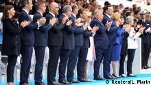 Frankreich | Bastille Day | Nationalfeiertag 2020 | Coronavirus | Militärparade