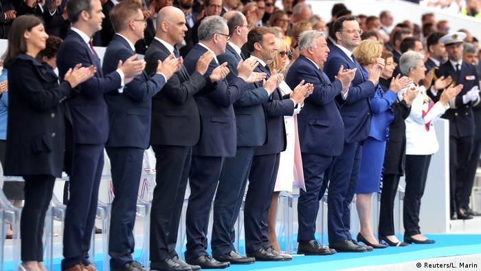 Na proslavi nacionalnog praznika Francuske ove godine, gost je bio i nemački ministar zdravlja Jens Špan