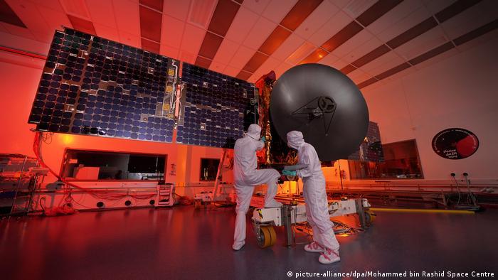Vereinigte Arabische Emirate Abu Dhabi   Marssonde Hope Probe Mohammed bin Rashid Space Centre