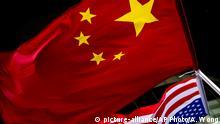 China Symbolbild Großmacht | USA klein