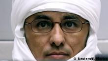 Niederlande Al Hassan Ag Abdoul Aziz Ag Mohamed Ag Mahmoud vor dem ICC ARCHIV