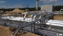 Deutschland Baustelle Eugal Pipeline